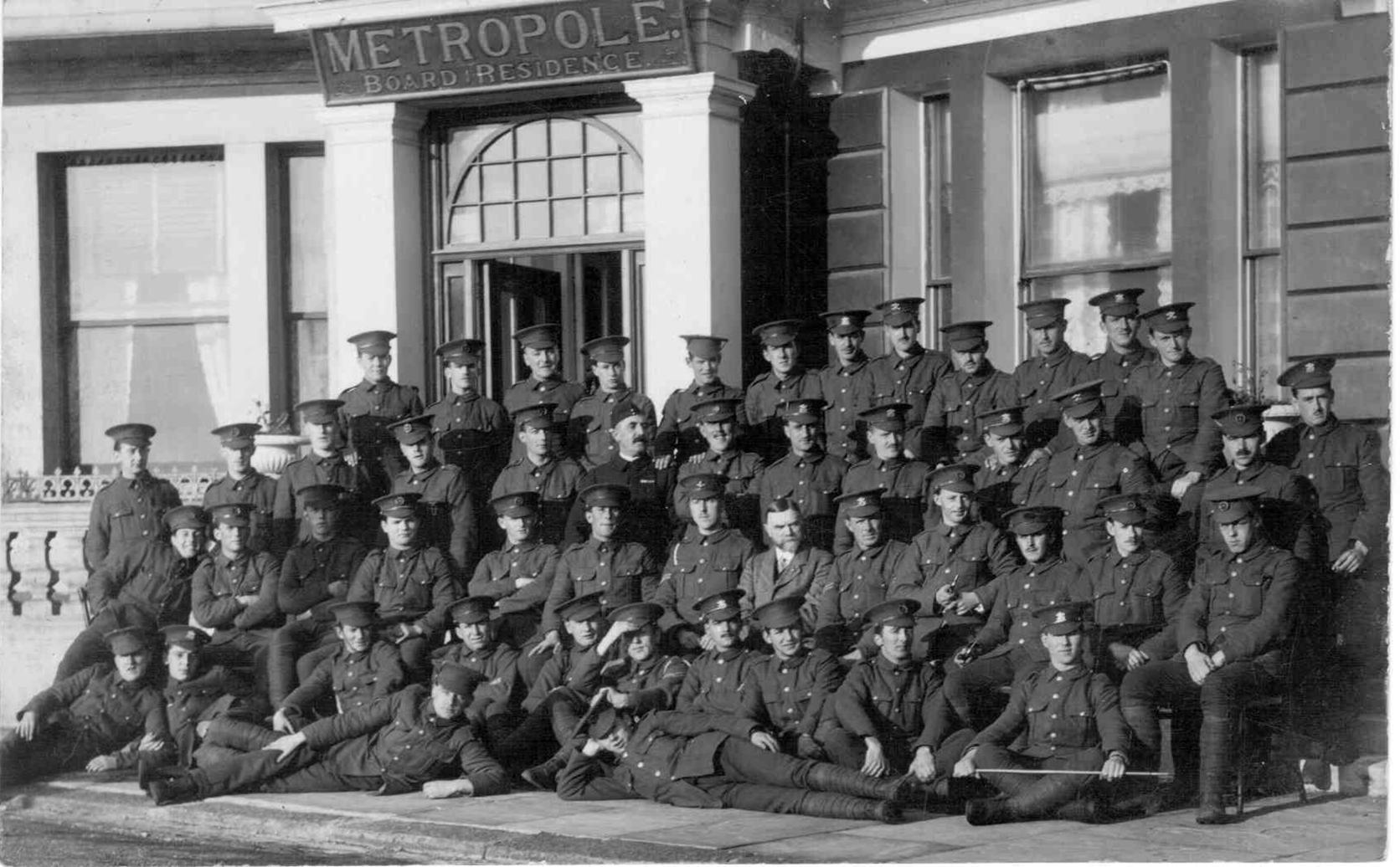 Soldiers Robertson Terrace