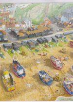 Canvas Print of Fishing Fleet by David Marsh