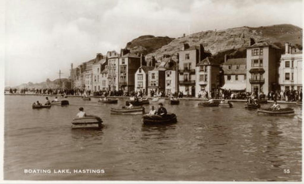 Boating Lake c 1950