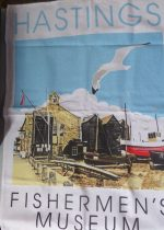 Fishermen's Museum Tea-Towel