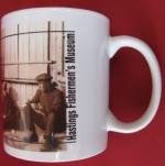 Sepia Judges Postcard Mug