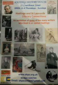 Exhibition - History House -Hastings Literary Connections @ Hastings History House -